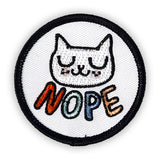 Nope Cat Patch