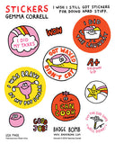 I Wish I Still Got Stickers for Doing Stuff
