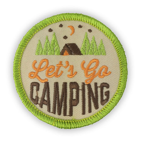 Let's Go Camping Patch