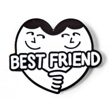 Best Friend Enamel Pin