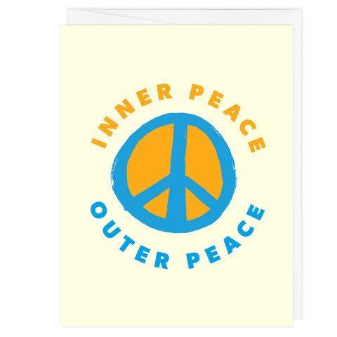 Inner Peace Outer Peace A2 Card