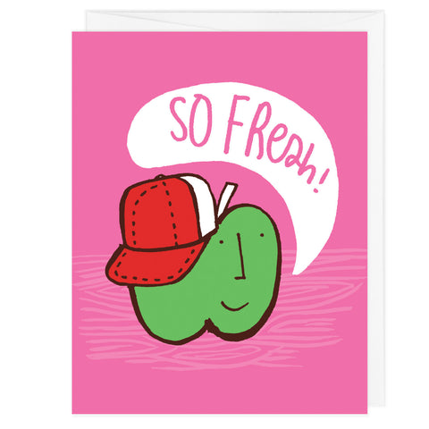 So Fresh Greeting Card