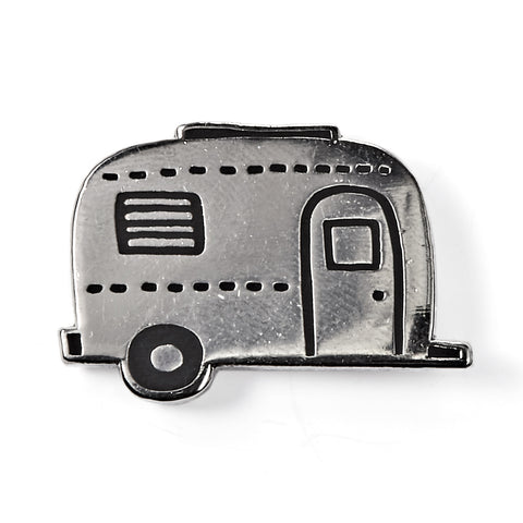 Camper Trailer Enamel Pin