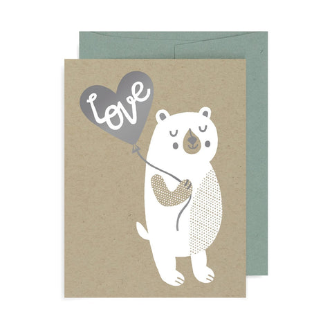 Love Bear A2 Card