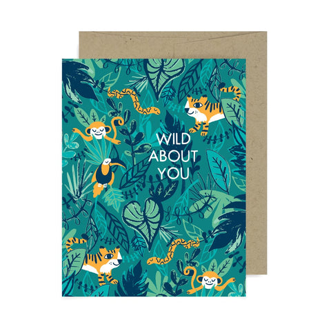 Wild About You A2 Card