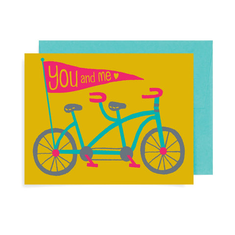 You and Me Bike A2 Card