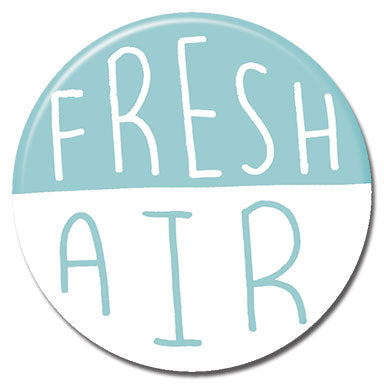 "Fresh Air 1.25"" Button"