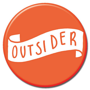 "Outsider 1.25"" Button"