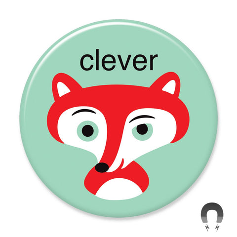 Clever Fox Big Magnet