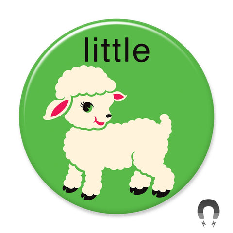 Little Lamb Big Magnet