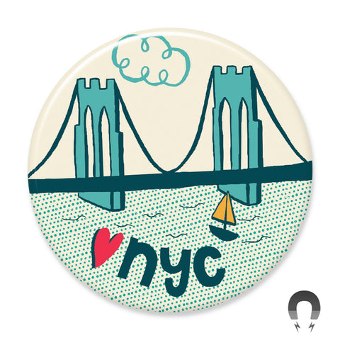 NYC Brooklyn Bridge Magnet