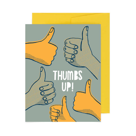 Thumbs Up A2 Card