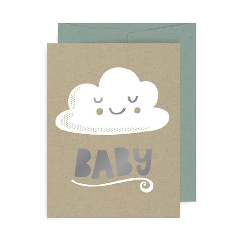 Baby Cloud A2 Card A2 Card