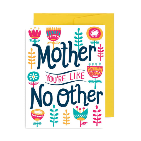Mother Like No Other A2 Card