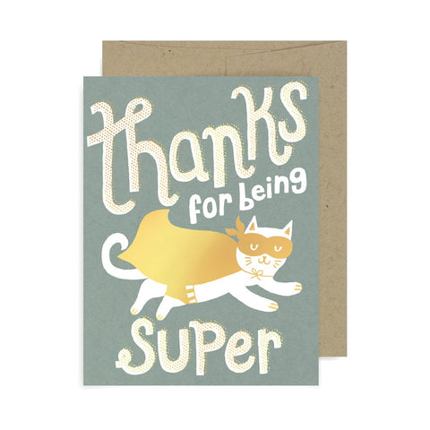 Thanks for Being Super Cat