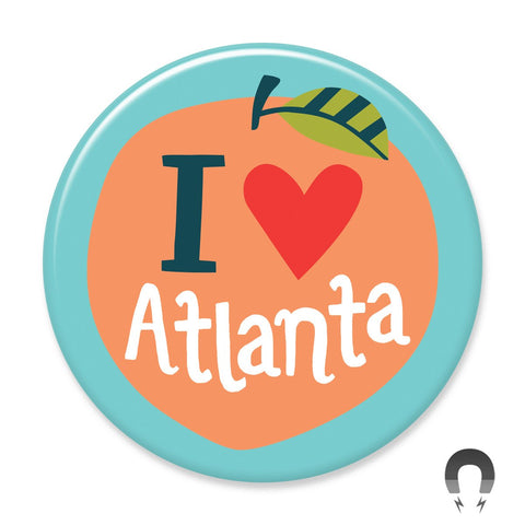 Atlanta Peach Magnet