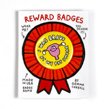 I Was Brave At My Pap Smear Reward Badge