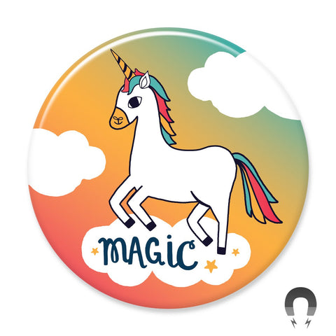 Magic Unicorn Magnet