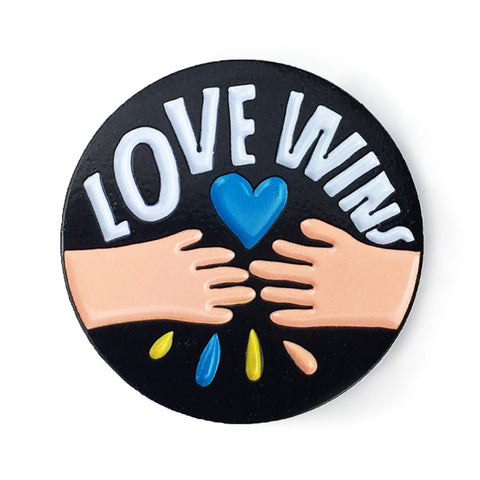 Love Wins Enamel Pin