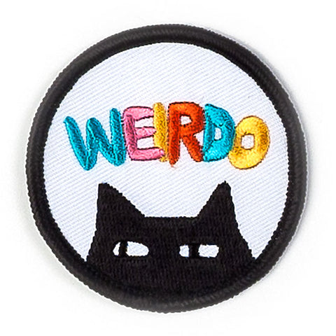 Weirdo Cat Patch