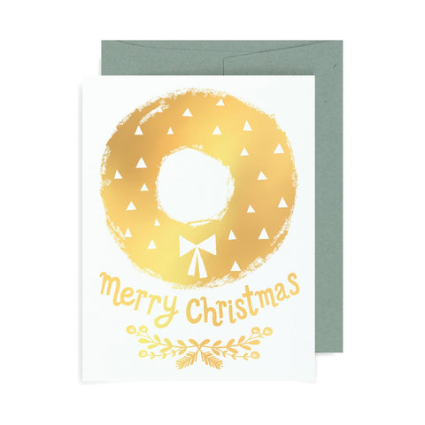 Wreath A2 Card