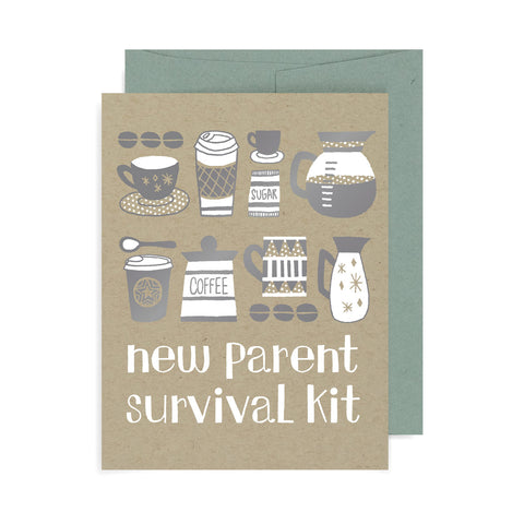 Parent Survival Kit A2 Card