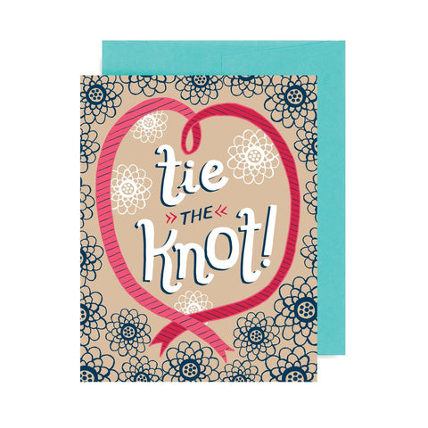 Tie the Knot A2 Card
