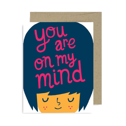 You Are On My Mind A2 Card