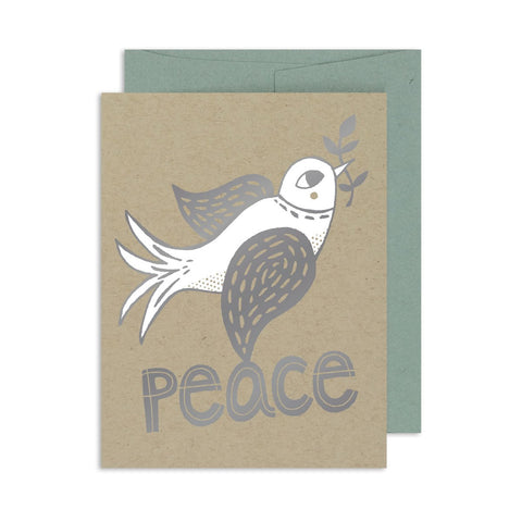 Peace Dove A2 Card