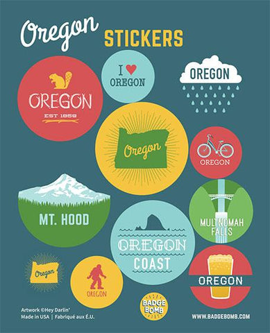 Oregon Stickers