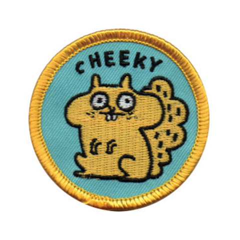Cheeky Squirrel Patch