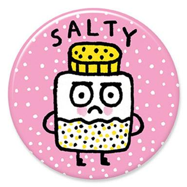 Salty Button by Gemma Correll