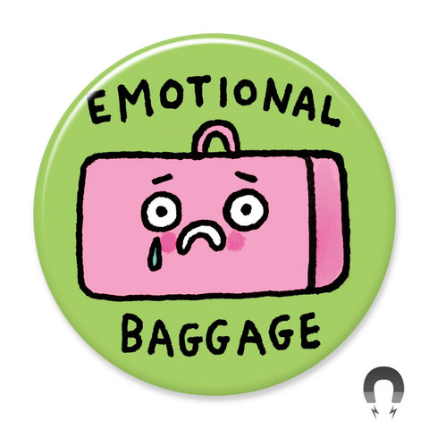 Emotional Baggage Big Magnet