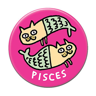"Pisces  1.25"" Button"