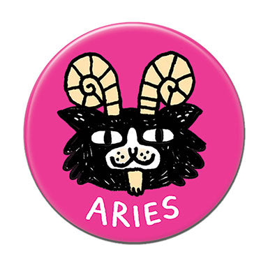 "Aries  1.25"" Button"