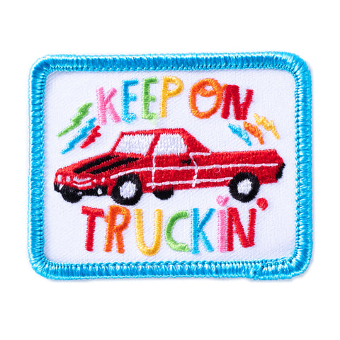 Keep On Truckin' Patch