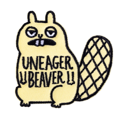 Uneager Beaver Patch