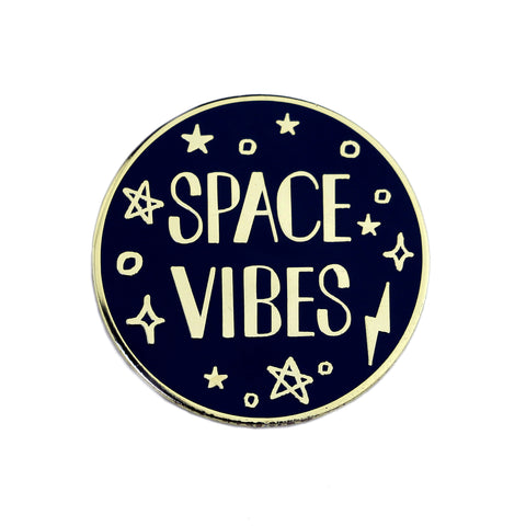 Space Vibes Enamel Pin