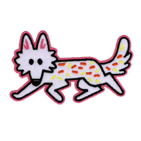 Coyote Felt Patch