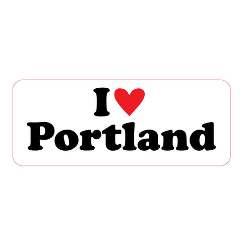 I Heart Portland Big Sticker