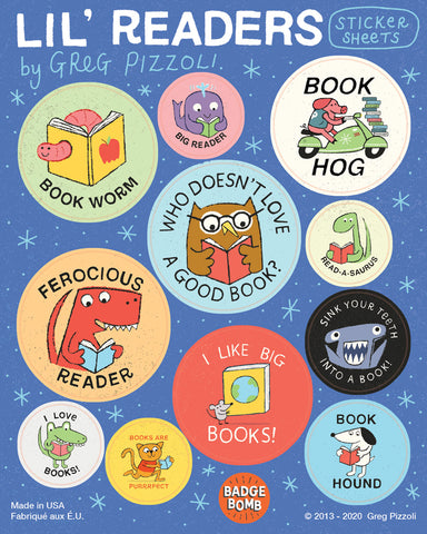 Li'l Readers Sticker Sheets