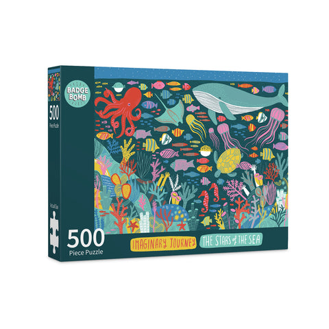 The Stars of the Sea 500 Piece Puzzle