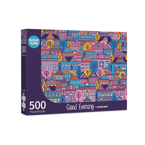 Good Evening 500 Piece Puzzle