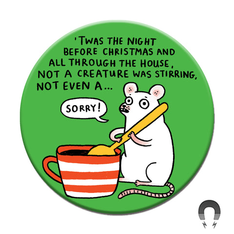 Gemma Correll - Holiday Mouse Magnet