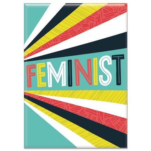 Feminist Rectangle Magnet
