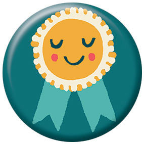 Allison Cole Badge 1 inch Button