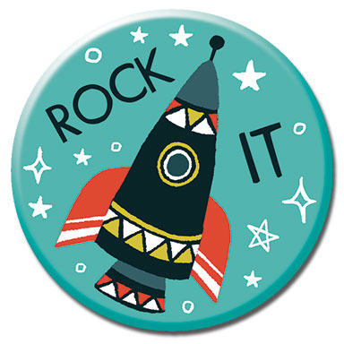 "Rock It 1.25"" Button"