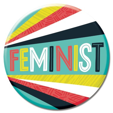 Feminist Burst Button