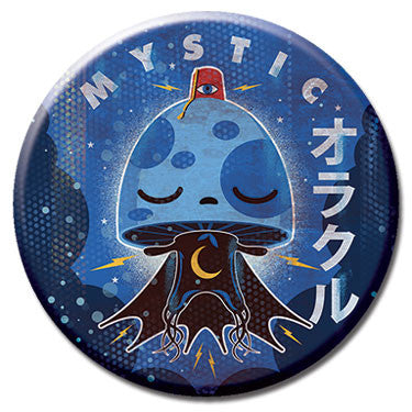 "Mystic Mushroom 1.25"" Button by 64 Colors"