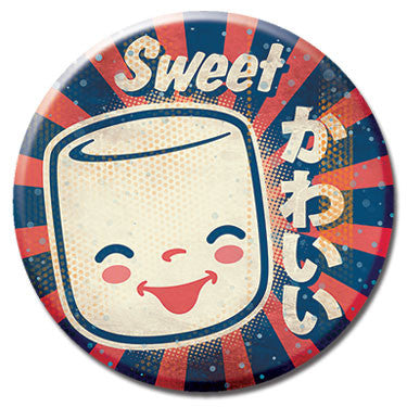 "Sweet Mello 1.25"" Button by 64 Colors"